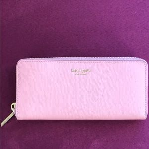 ✨kate spade pink cameron street lacey wallet